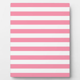 Pink stripes plaque