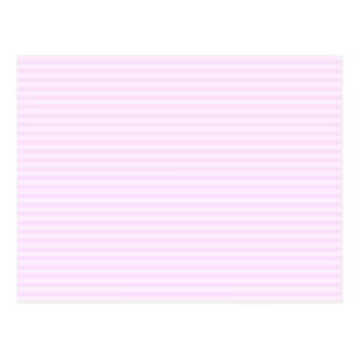 Pink Stripes. Postcard