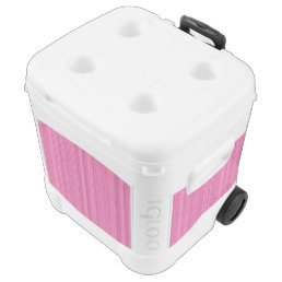 Pink Strips Cooler