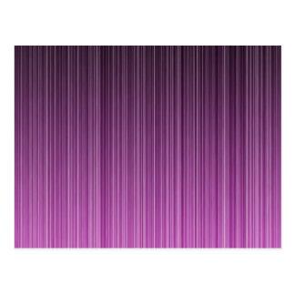 Pink Stripy Postcard