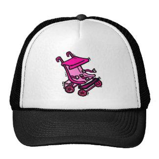 Pink Stroller Trucker Hat