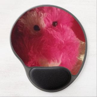 Pink Stuffed Dog Mouse Pad