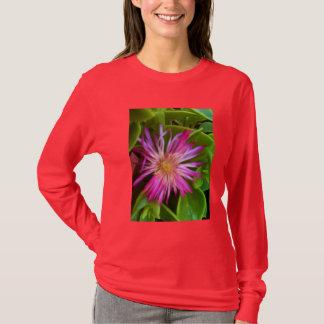 Pink succulent flower T-Shirt