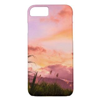 Pink Sugar Cane Blossom iPhone 7 Case