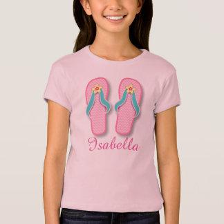 Pink Summer FlipFlops T-Shirt