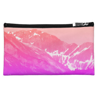 Pink Summer Mountains Bag