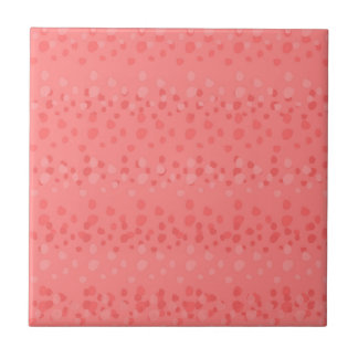 Pink Summer Rain Lovers Tile