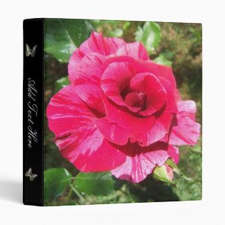 Pink Summer Rose Binder