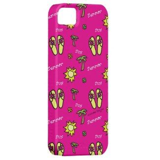 Pink Summer Sun and Fun iPhone 5 Case