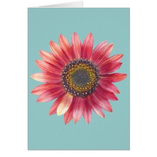 PInk Sunflower Card