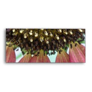 Pink Sunflower Envelopes