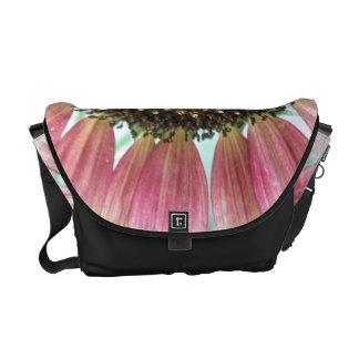 Pink Sunflower Messenger Bag