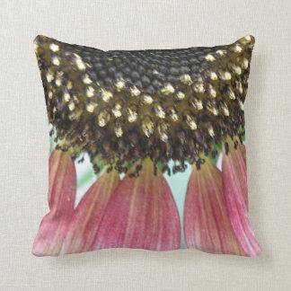 Pink Sunflower Pillow