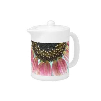 Pink Sunflower Teapot