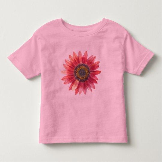PInk Sunflower Toddler T-shirt