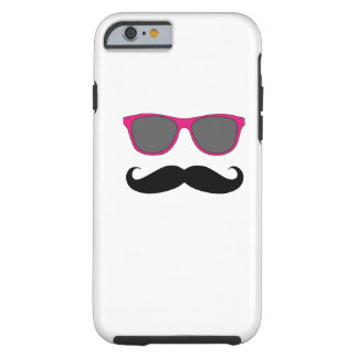 Pink Sunglasses and Black Moustache iPhone 6 case iPhone 6 Case