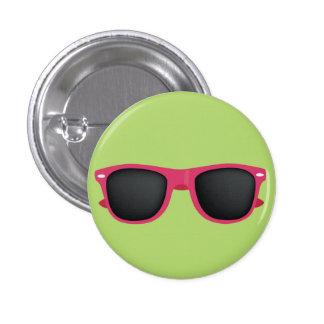 Pink Sunglasses Pinback Button