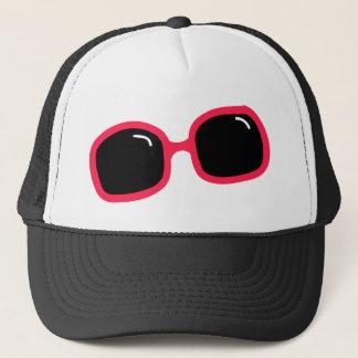 Pink Sunglasses Trucker Hat