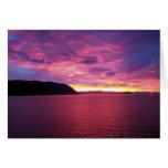 Pink Sunrise Card