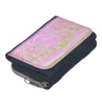 Pink Sunrise Mandala Wallet
