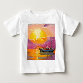 Pink sunset baby T-Shirt