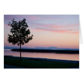 Pink Sunset Card