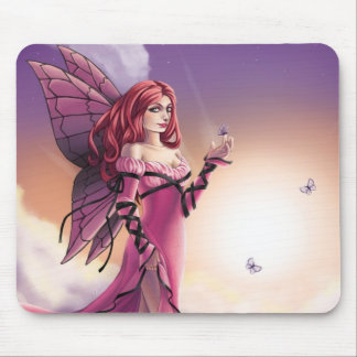 Pink Sunset Mouse Pad