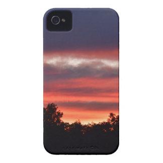 PINK SUNSET RURAL QUEENSLAND AUSTRALIA iPhone 4 COVER