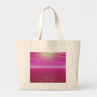 Pink Sunset Sea - CricketDiane Art Bag