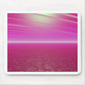 Pink Sunset Sea - CricketDiane Art Mouse Pads