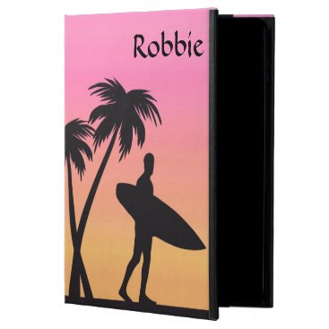 Pink Sunset Surfer Silhouette iPad Air 2 Case
