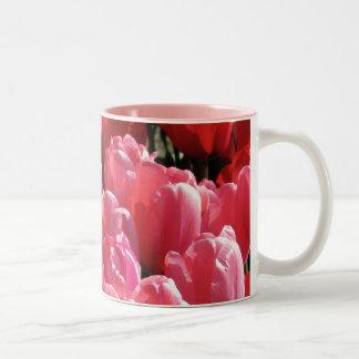 Pink Sunshine Two-Tone Coffee Mug