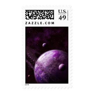Pink Super Earth Xianthen-18 Postage