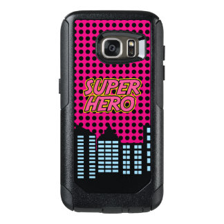 Pink Super Hero OtterBox Samsung Galaxy S7 Case