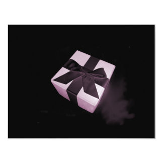 Pink Surprise 4.25x5.5 Paper Invitation Card