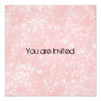 Pink Surprise Baby Shower Card