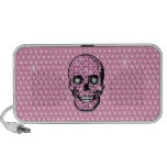 """Pink """"Surrender the Fluty"""" Pirate gifts iPhone Speakers"""