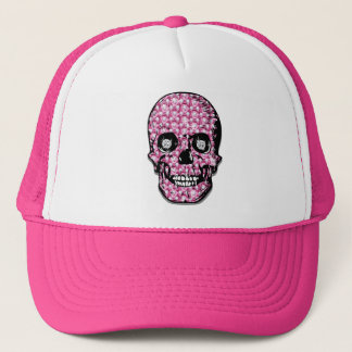 "Pink ""Surrender the Fluty"" Pirate Trucker Hat"