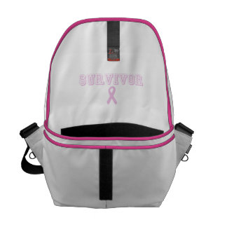 Pink Survivor Courier Bag
