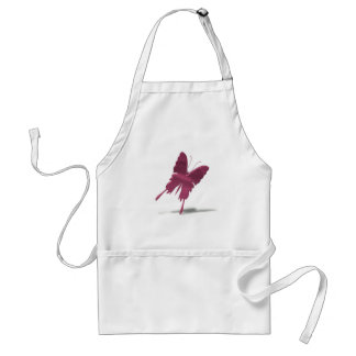Pink Swallowtail Butterfly Apron