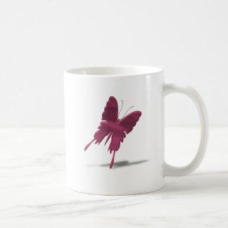 Pink Swallowtail Butterfly Coffee Mug