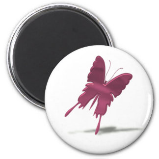 Pink Swallowtail Butterfly Magnet Magnets