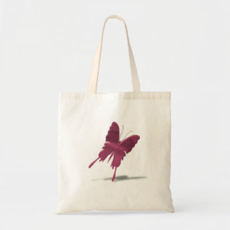 Pink Swallowtail Butterfly Tote Bag