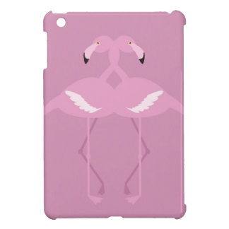 pink swan heart couple case savvy ipad mini cover for the iPad mini