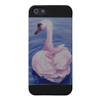 Pink Swan IPhone 4 Case