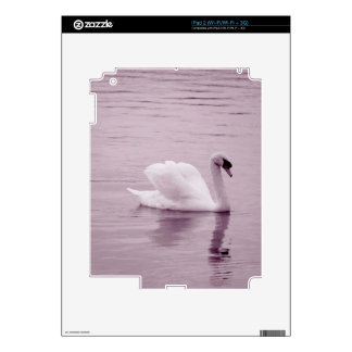 Pink Swan Skin For The iPad 2