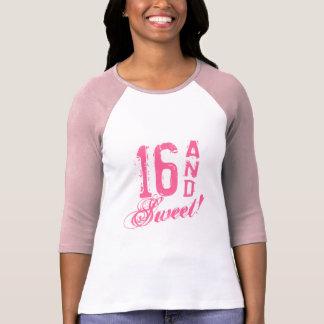 Pink sweet 16 sixteen Birthday t shirt for girls