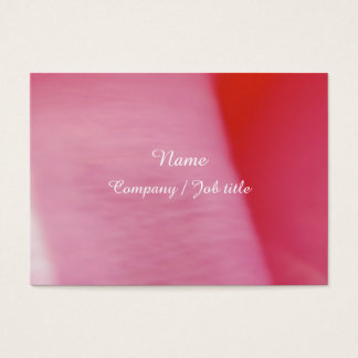 Pink Sweet Abstract Paint Colorful Reasonable Business Card