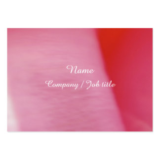 Pink Sweet Abstract Paint Colorful Reasonable Large Business Card