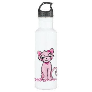 Pink Sweet Cat liberty bottle